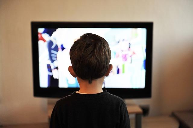 TV 4K enfant